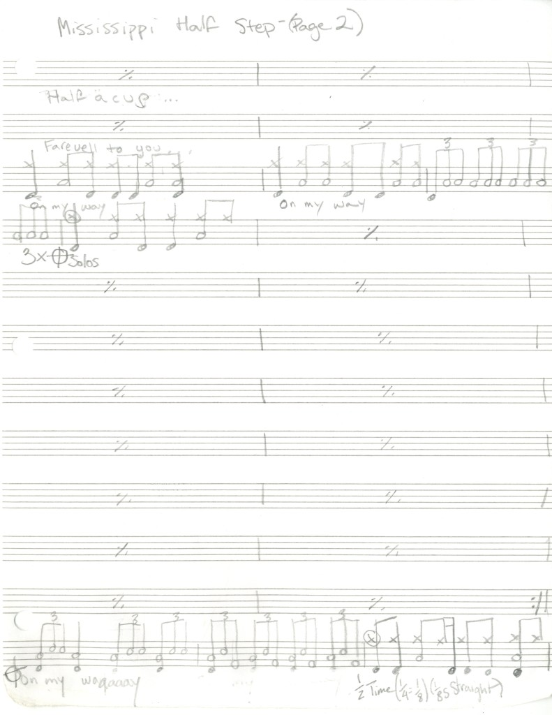 Grateful Dead - Mississippi Half Step - 2